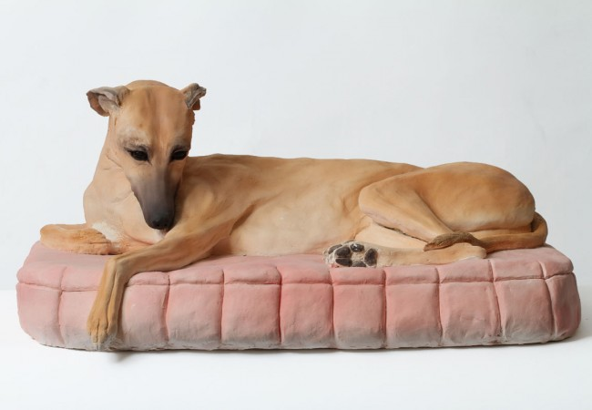 Bella The Whippet, Ceramic