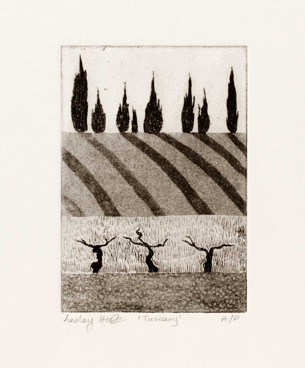 Italy, Etch/Aquatint