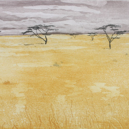 Serengeti, Etch/aquatint